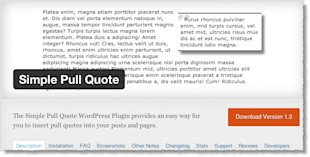 Top 10 WordPress Plugins That You Need To Be Using In 2014 image Top 10 WordPress Plugins Simple Pull Quote