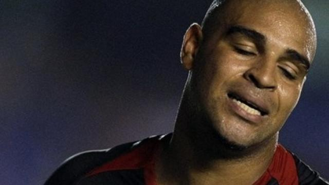 Adriano given Flamengo warning after missing training