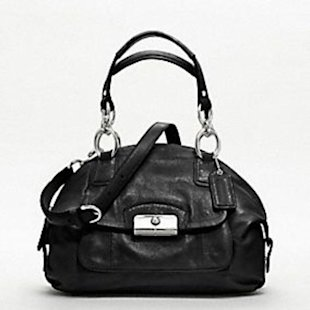 Coach Kristin leather domed satchel, $358