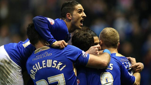 Championship - Leicester promoted to Premier League