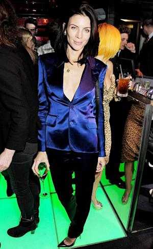 PICTURE: Liberty Ross Parties, Flaunts Cleavage in London