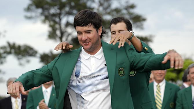Bubba goes green for the 2nd time at Augusta
