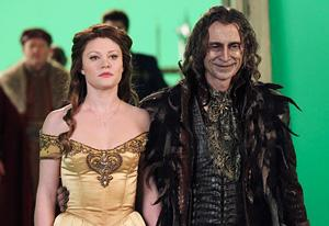 Emilie de Ravin and Robert Carlyle, Once Upon A Time   | Photo Credits: Jack Rowand/ABC