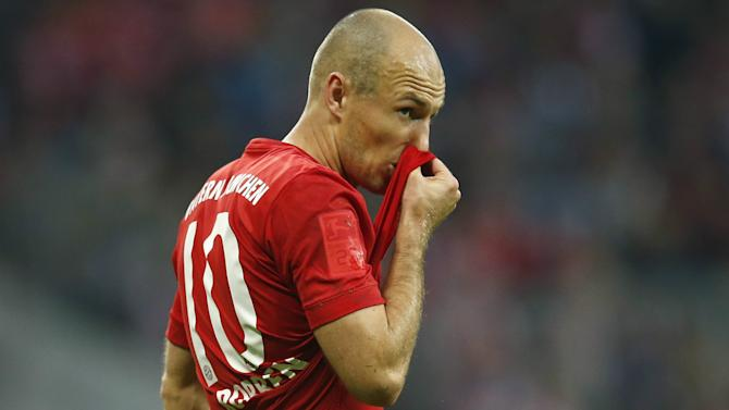 Robben: I snubbed offers from China - going there is admitting our career is over