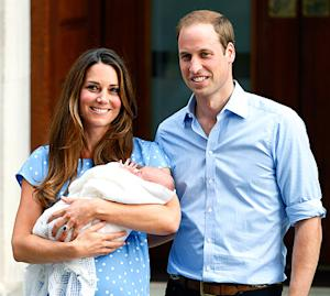 "Kate Middleton Called ""Princess"" on Prince George's Birth Registry"