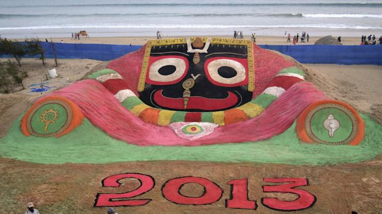 New Year 2013 Odisha