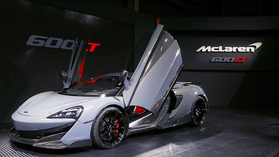 輕量與空氣力學設計再進化 McLaren 600LT