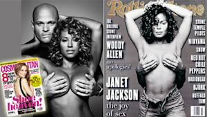 Mel B Goes Topless, Channels Janet Jackson