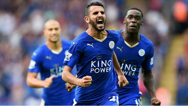 'It was this year or never' - Mahrez on Leicester's title tilt