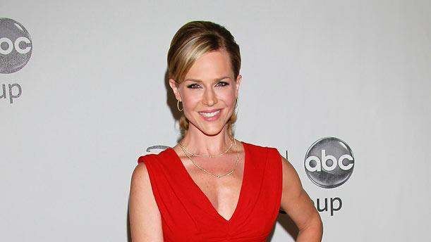"""""""No Ordinary Family's"""" Julie Benz arrives at the Disney/ABC Television 2010 TCA Summer Press Tour on August 1, 2010 in Beverly Hills, California."""
