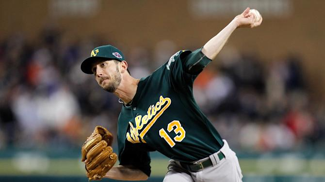 Oakland Athletics v Detroit Tigers - Game One