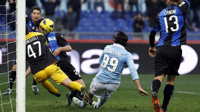 Serie A - Lazio cut Juve's lead after victory