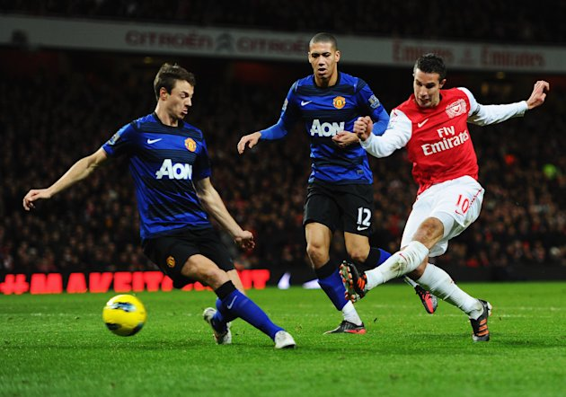 Robin van Persie will be in Man United shirt next season. (Getty Images)