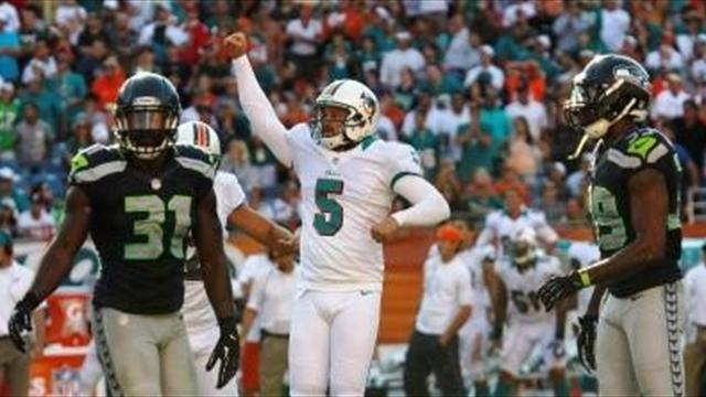 American Football - Carpenter kick gives Miami win over Seahawks