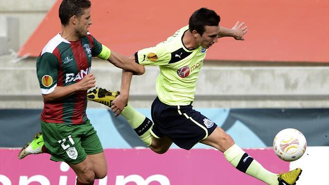 Unlucky Newcastle held by Maritimo