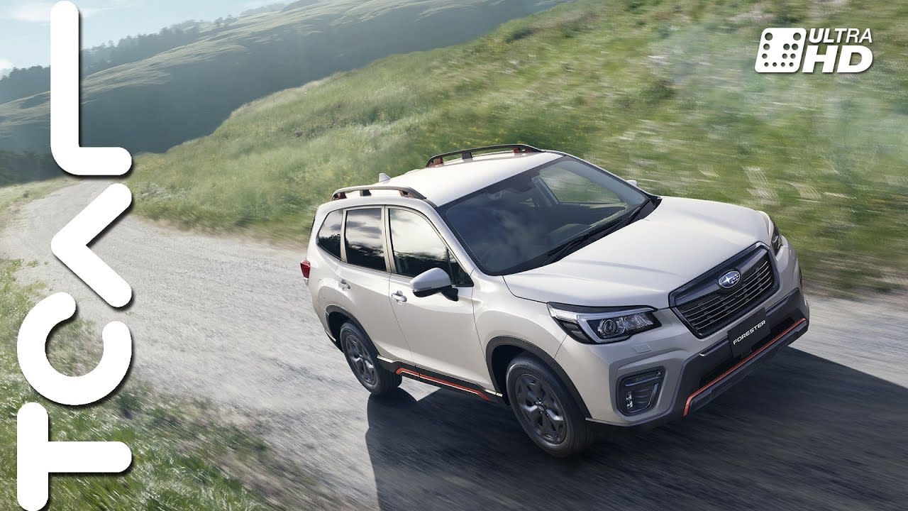 搶先體驗 Subaru Forester e-Boxer 海外試駕 - TCar