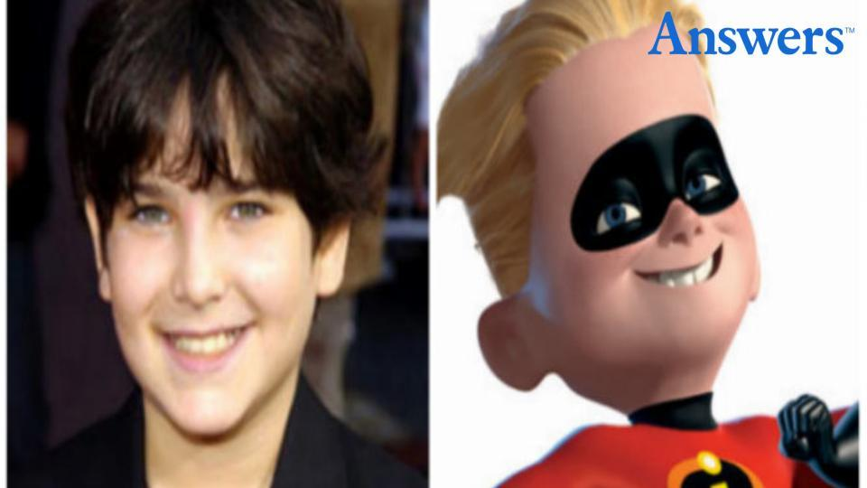 The Cast of 'The Incredibles' Then and Now
