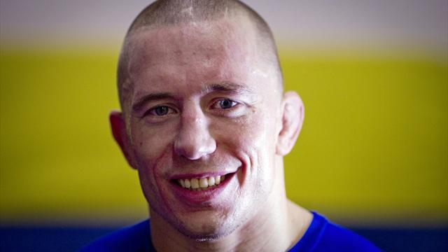 Mixed Martial Arts - St-Pierre 'better off' after voluntarily surrendering title