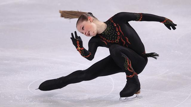 Figure Skating - Lipnitskaia far from happy despite Rostelecom Cup victory