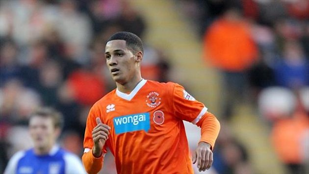 Blackpool's Tom Ince is attracting interest from Swansea