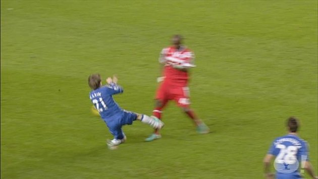 Marko Marin's horror tackle