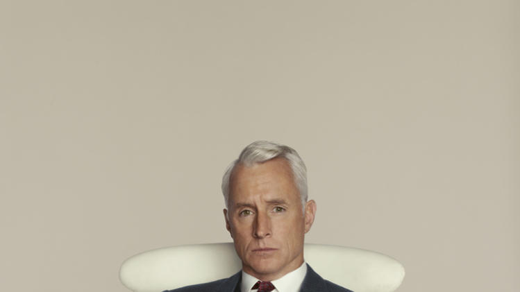 "John Slattery stars as Roger Sterling in ""Mad Men."""