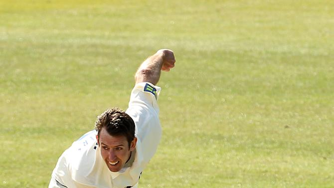 David Masters took five wickets against Derbyshire