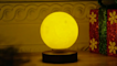 This levitating, rotating moon is the coolest thing you'll ever own
