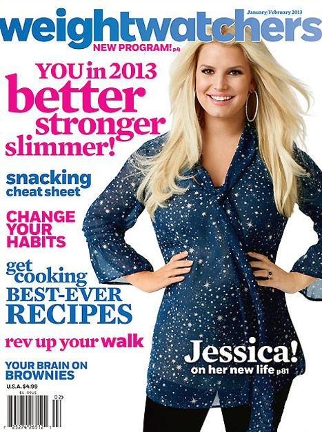 Jessica Simpson Shows Off 50-Pound Weight Loss on Weight Watchers Magazine Cover