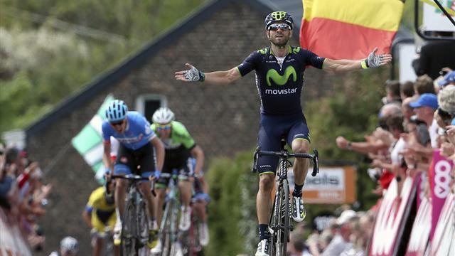 Cycling - Valverde wins Fleche Wallone