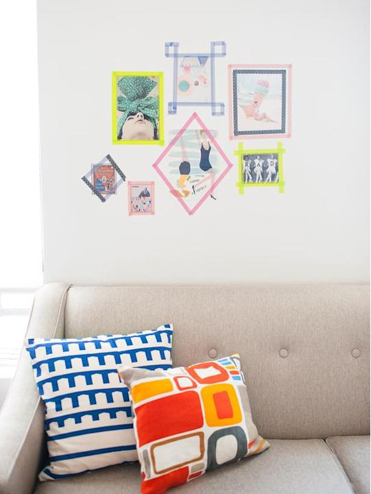 Personalize Colorful Frames
