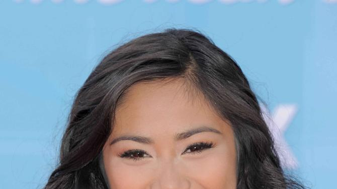 "FILE - In this Wednesday, May 23, 2012 file photo, finalist Jessica Sanchez arrives at the ""American Idol"" Finale in Los Angeles. Coming in second on ""American Idol"" as Sanchez has, may still be a path to superstardom, but it no longer offers guaranteed paychecks worthy of the next pop idol or rock star. (Photo by Jordan Strauss/Invision/AP, File)"