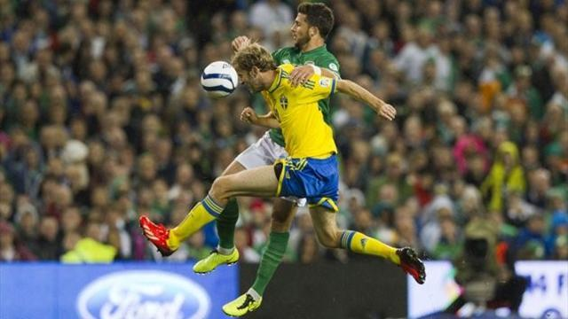 World Cup - Sweden deal a blow to Ireland's Brazil dream