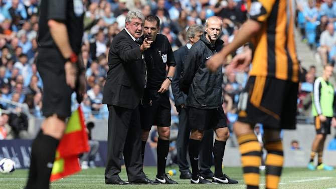 Soccer - Barclays Premier League - Manchester City v Hull City Tigers - Etihad Stadium