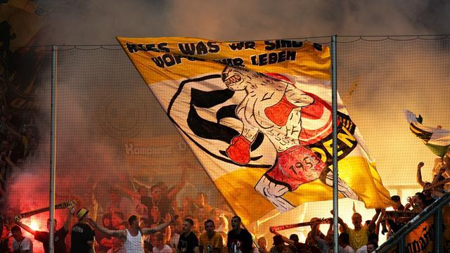 Bundesliga - Dresden banned from next year's German Cup