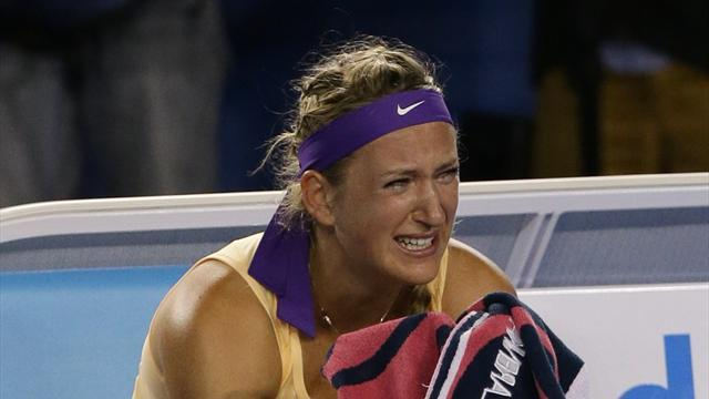 Australian Open - Emotional Azarenka emerges a champion again