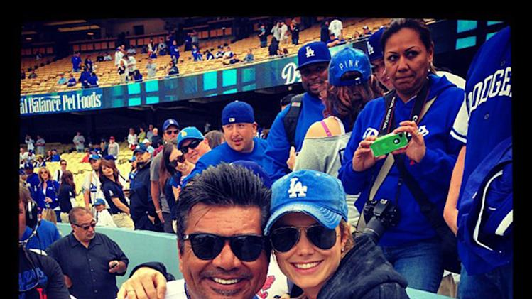 George Lopez, Stacy Keibler