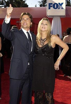 Rob Lowe and wife 55th Annual Emmy Awards - 9/21/2003