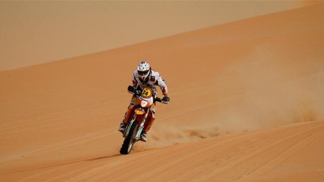 Dakar - Bikes: Britain's Sunderland claims maiden stage win in Dakar