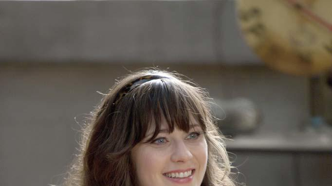 "Zooey Deschanel stars as Jess in ""New Girl."""