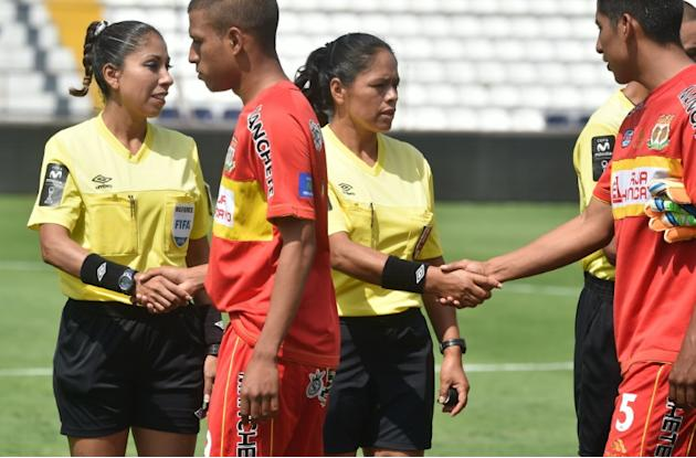 World football body FIFA has 720 women registered as referees for professional football games -- 324 main referees and 396 assistants