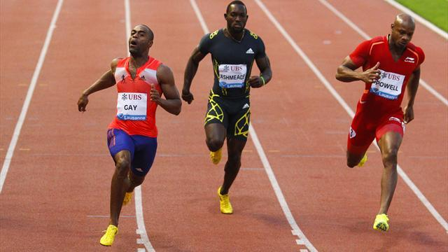 Athletics - Gay impressives with 9.79 in Lausanne