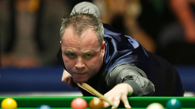 Snooker - Higgins sparkles in China as Trump is tipped out