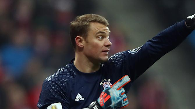 Neuer hits Bundesliga record with 100 clean sheets