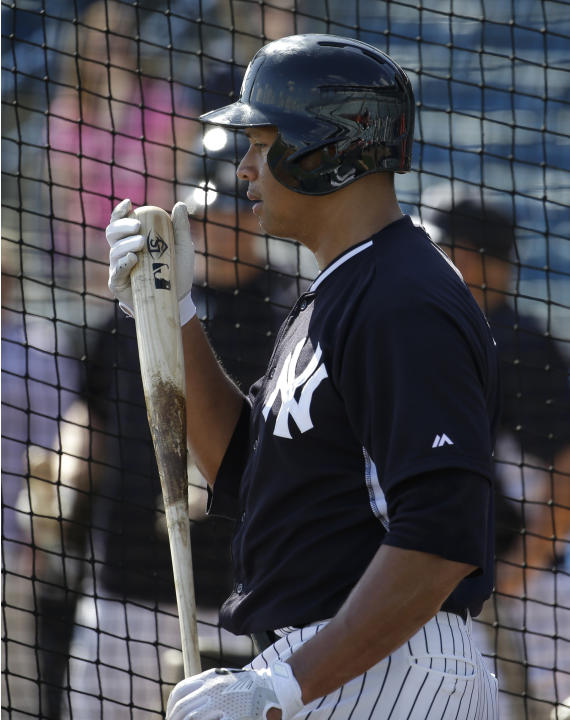 A-Rod singles in first at-bat following drug suspension