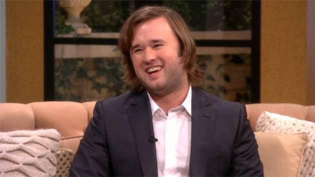 Haley Joel Osment stops Access Hollywood Live on January 9, 2014 -- Access Hollywood
