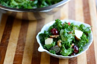 Recipe: Kale Waldorf Salad