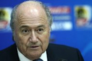 "FIFA boss Sepp Blatter (pictured) said on Wednesday that the introduction of goal-line technology is a must after Ukraine appeared to equalise against England in their final Euro 2012 group match but the referee waved play on. ""After last night's match #GLT is no longer an alternative but a necessity,"" Blatter wrote on his Twitter account"