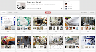 House Hunters: Pinterest Edition image HH Crate Barrel