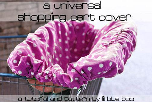 DIY Shopping Cart Cover